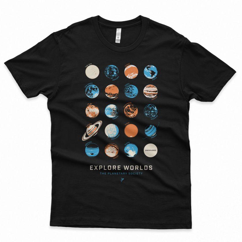 New Planetary Society T-Shirt