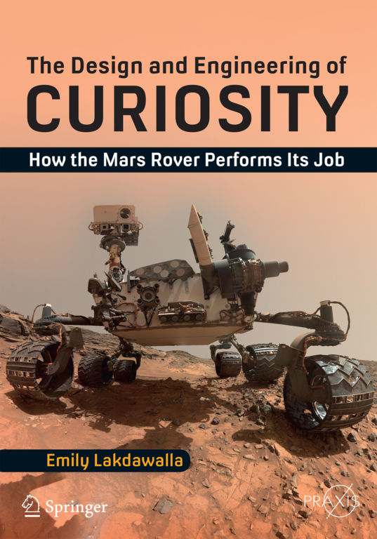 The Design and Engineering of Curiosity front cover