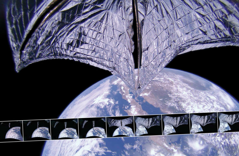 LightSail 2 Spreads its Wings and Begins to Fly