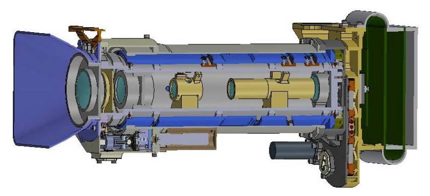 Mars 2020 Mastcam-Z cross-section