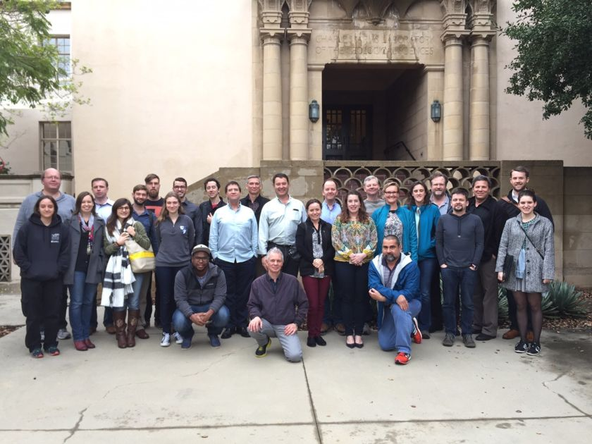 Mastcam-Z team members at the February 2017 team meeting