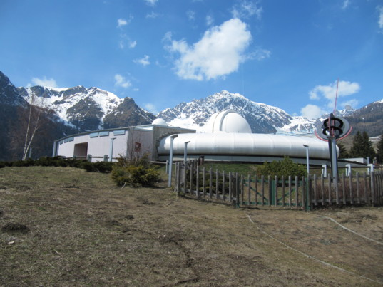Astronomical Observatory of the Autonomous Region of the Aosta Valley in the Italian Alps
