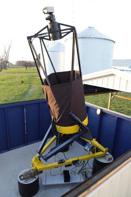 Telescope at the Astronomical Research Institute (ARI) in Westfield, Illinois, USA