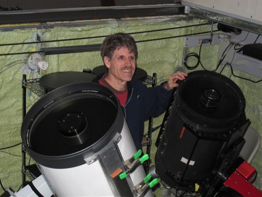 Center for Solar System Studies (CS3) in Landers, California
