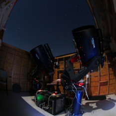 Center for Solar System Studies Meade 0.36-meter telescope