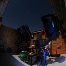 Center for Solar System Studies Meade 0.36-meter telescope
