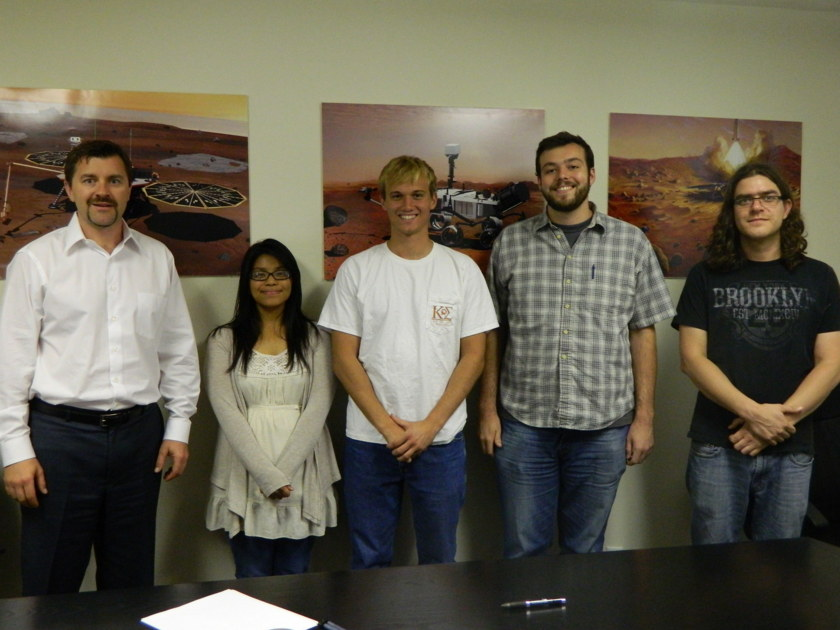 The PlanetVac Team from Honeybee Robotics