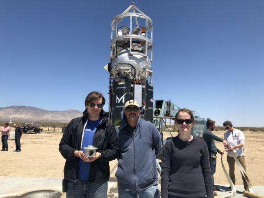 Justin Spring, Reuben Garcia and Kathryn Luczek