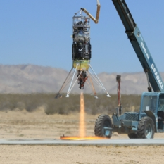 PlanetVac Xodiac test flight