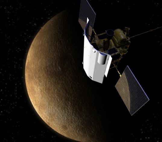 MESSENGER at Mercury
