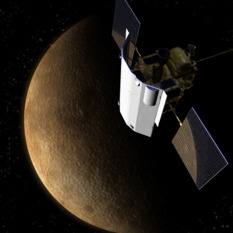 MESSENGER at Mercury