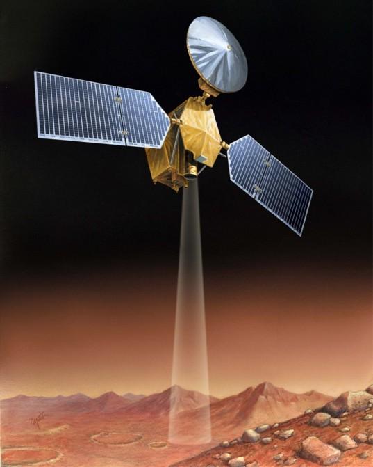 Mars Reconnaissance Orbiter (MRO) at Mars