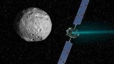 Dawn departs Vesta