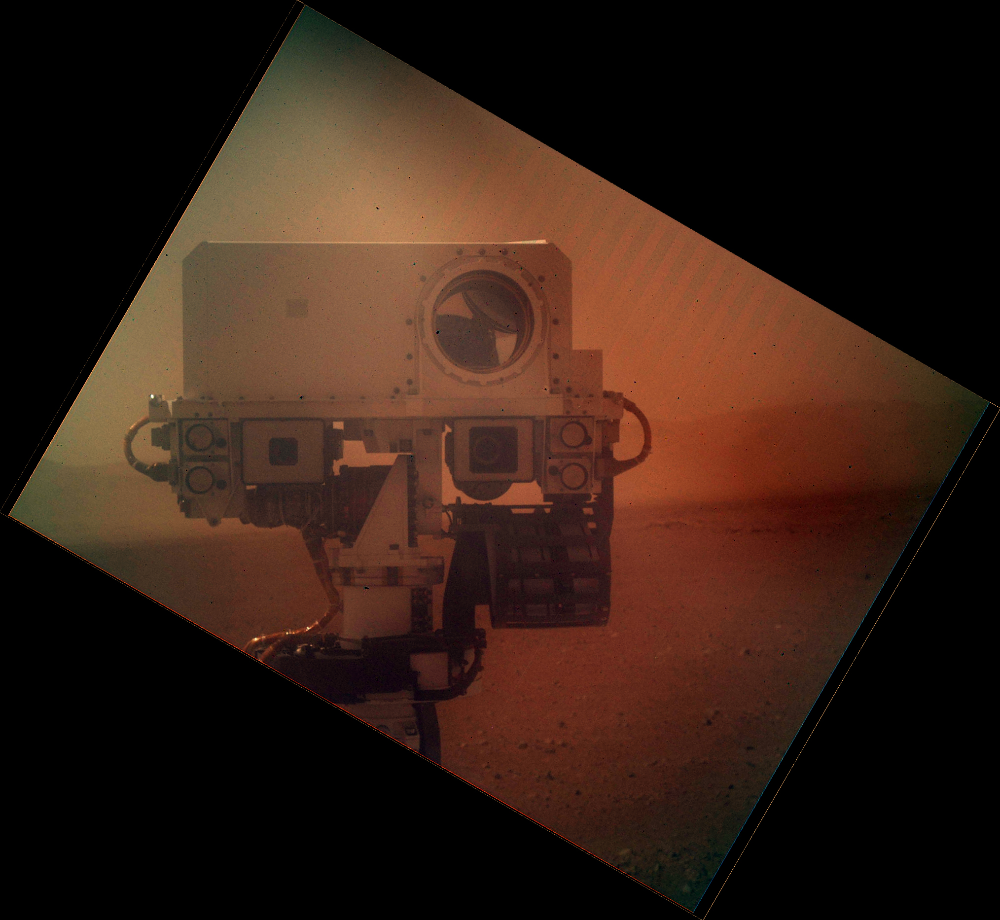 NASA Mars Rover Curiosity Self Shot Picture