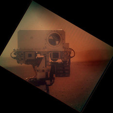 Curiosity self-portrait, sol 32
