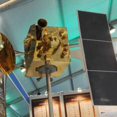 Model of India's Mars orbiter mission