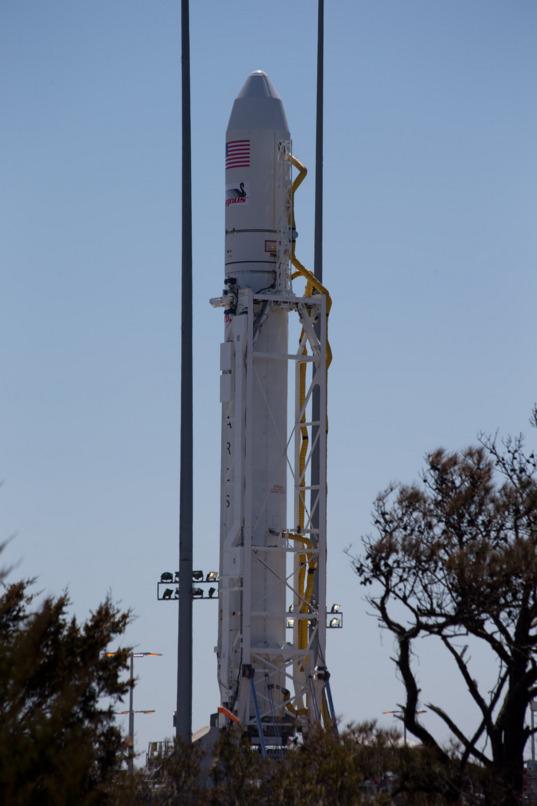 Antares ready for inaugural flight