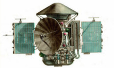 Mars 2 or 3 orbiter
