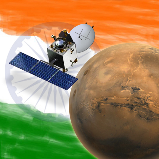 ISRO's Mars Orbiter Mission (MOM)
