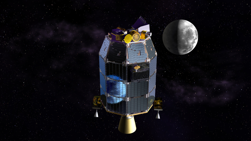 LADEE on the way to the Moon
