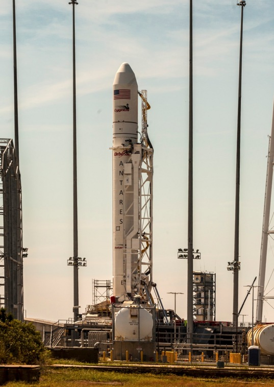 Antares ORB-D1 Ready for Launch
