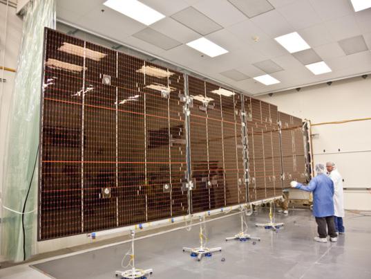 Juno solar panel