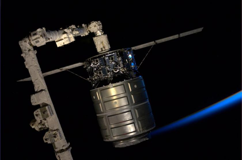 Cygnus captured