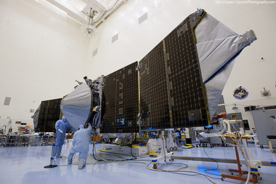 MAVEN in the clean room