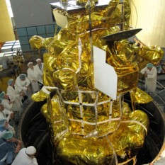Phobos-Grunt undergoing thermal vacuum tests