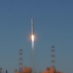 Spektr-R (RadioAstron) lifts off