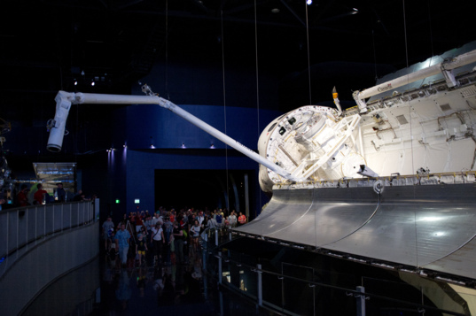 Space Shuttle Atlantis (and the Canadarm)