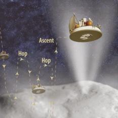 Comet hopper mission concept