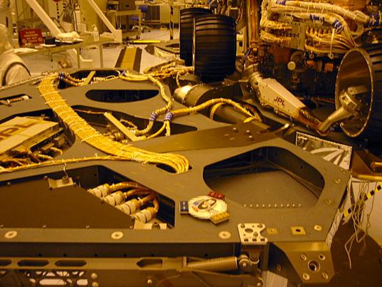 Planetary Society DVD on Mars Exploration Rover lander