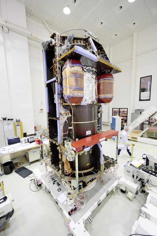 ExoMars Trace Gas Orbiter under construction