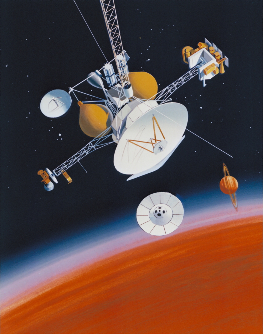 Saturn Orbiter/Titan Probe (SOTP) (predecessor of Cassini-Huygens)