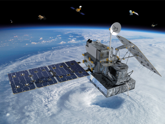 NASA Global Precipitation Measurement (GPM) satellite