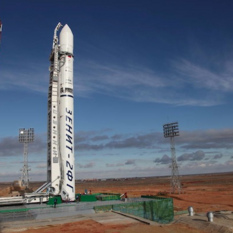 Phobos-Grunt and Yinghuo-1 on the launch pad on November 8, 2011
