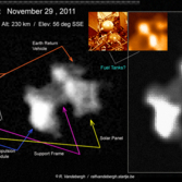 Phobos-Grunt imaged in orbit