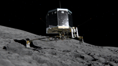 Philae's panoramic camera
