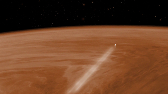 Venus Express aerobraking (wide)