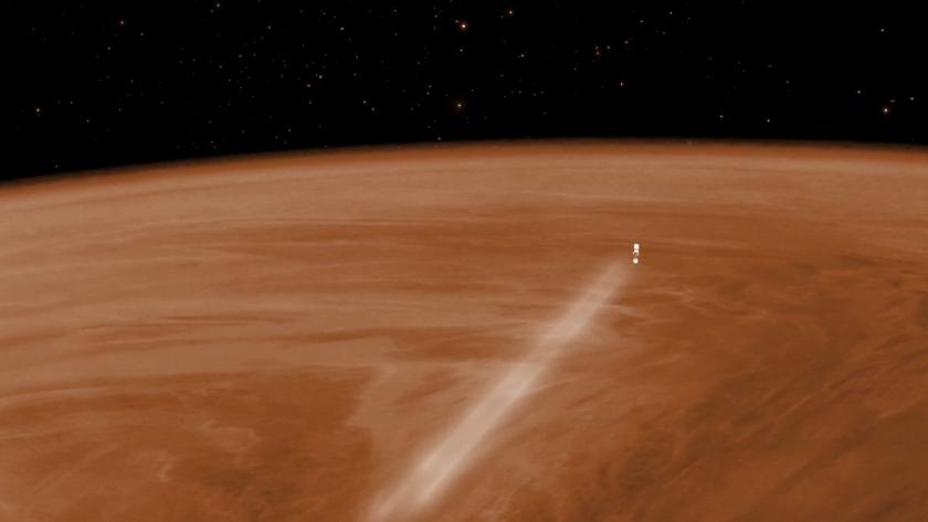 Venus Express aerobraking (wide)