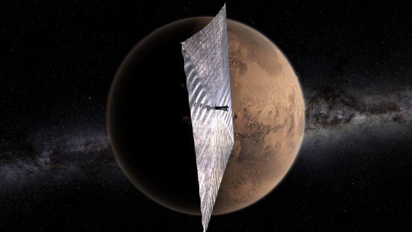 LightSail-1 at Mars