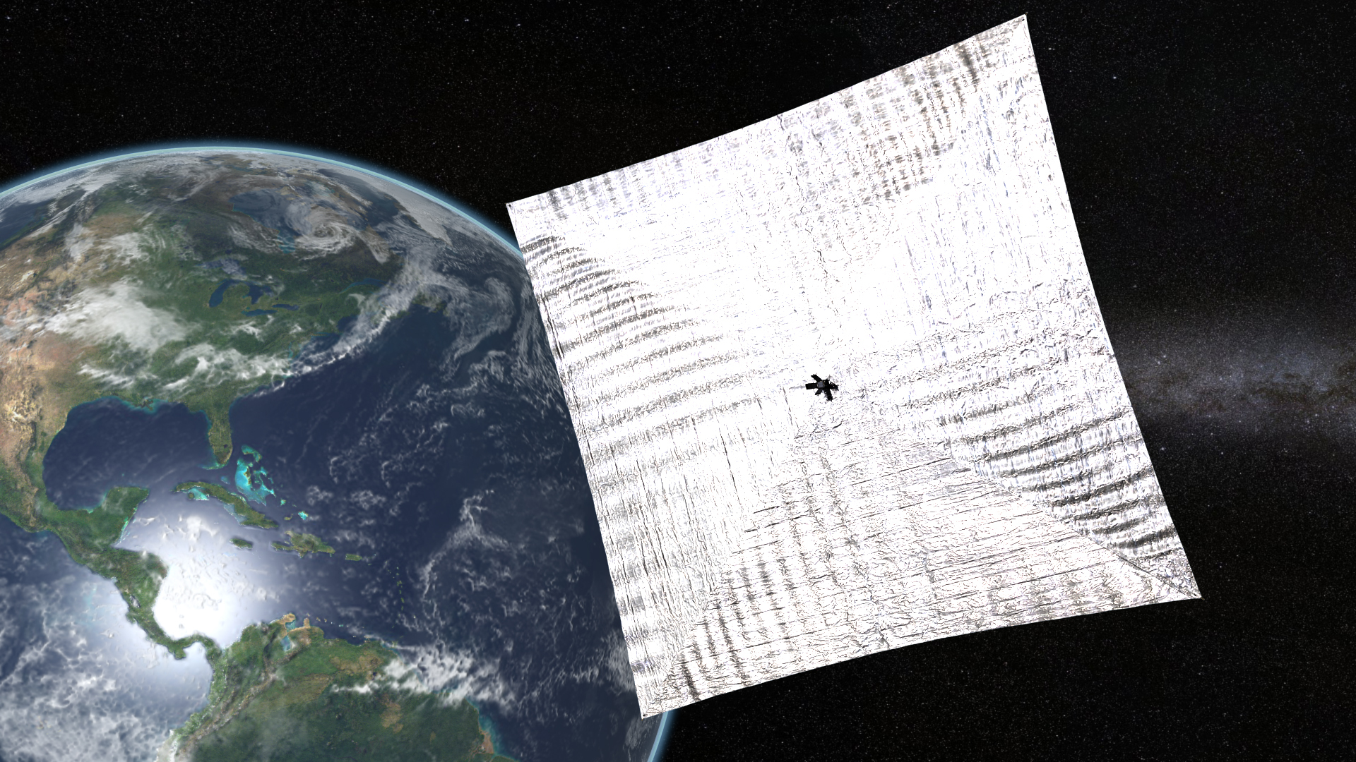 Lightsail 1 In Earth Orbit The Planetary Society
