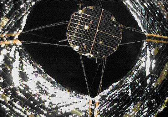IKAROS spacecraft from DCAM2
