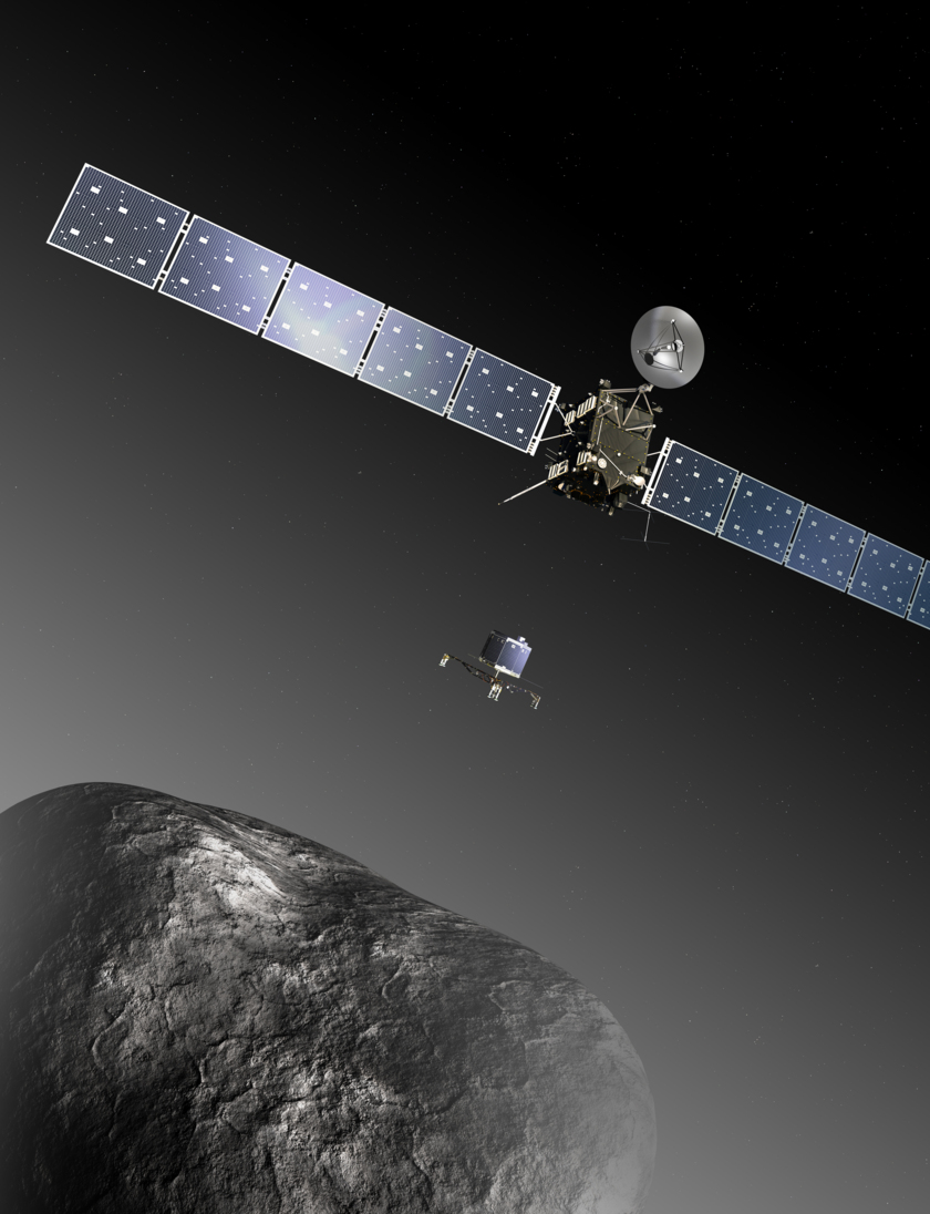 Rosetta and Philae at the comet