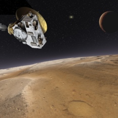 New Horizons flies over Pluto