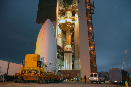 New Horizons meets its rocket