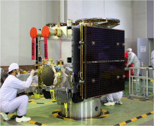 Hayabusa2 spacecraft
