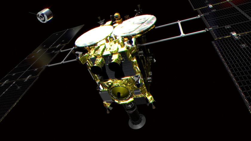 Hayabusa2 and DCAM3