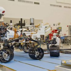 Curiosity Mobility Testing